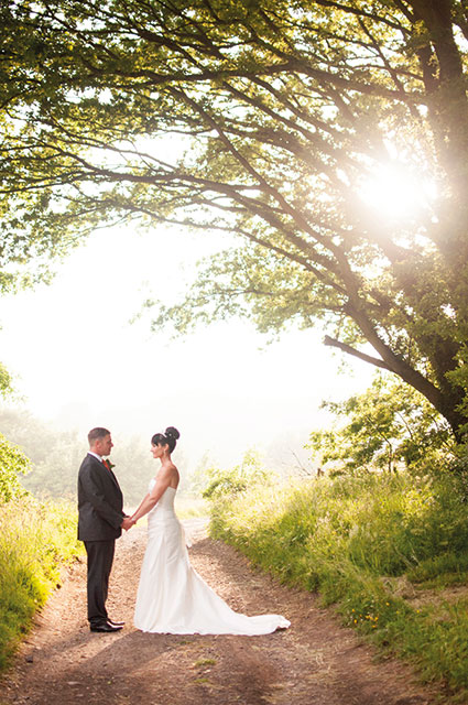 Married couple at Crowhurst Park